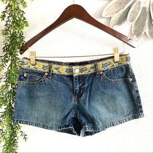 Tyte denim shorts